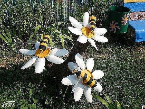 Поделки для дачи своими руками пчелки