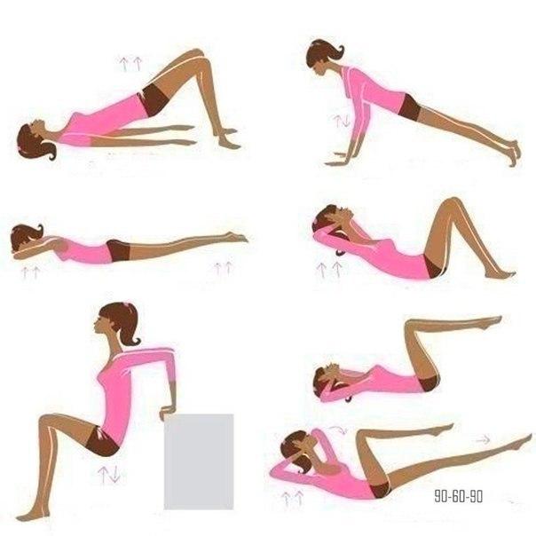 Домашняя тренировка для быстрого похудения