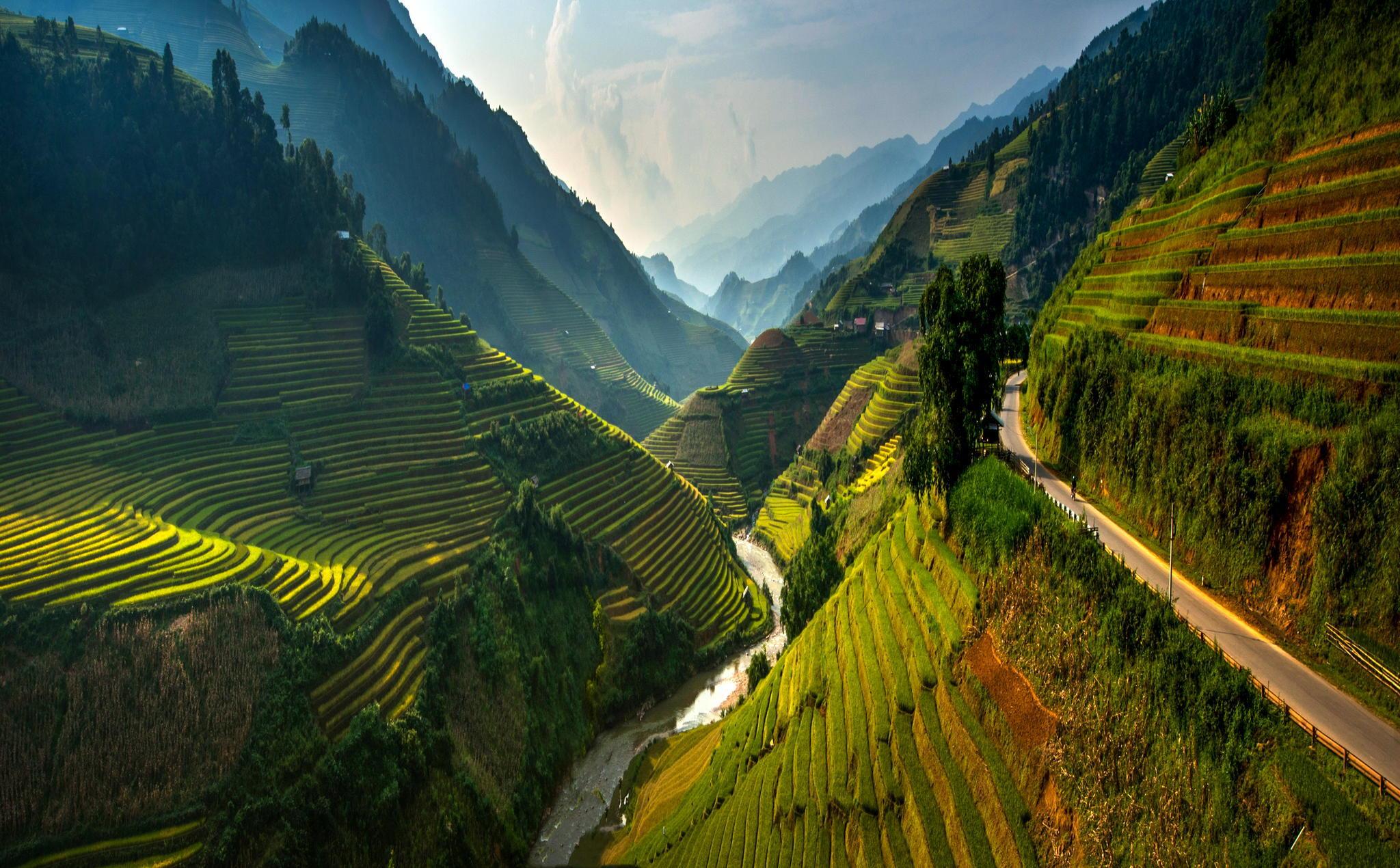 самые красивые места в азии фото