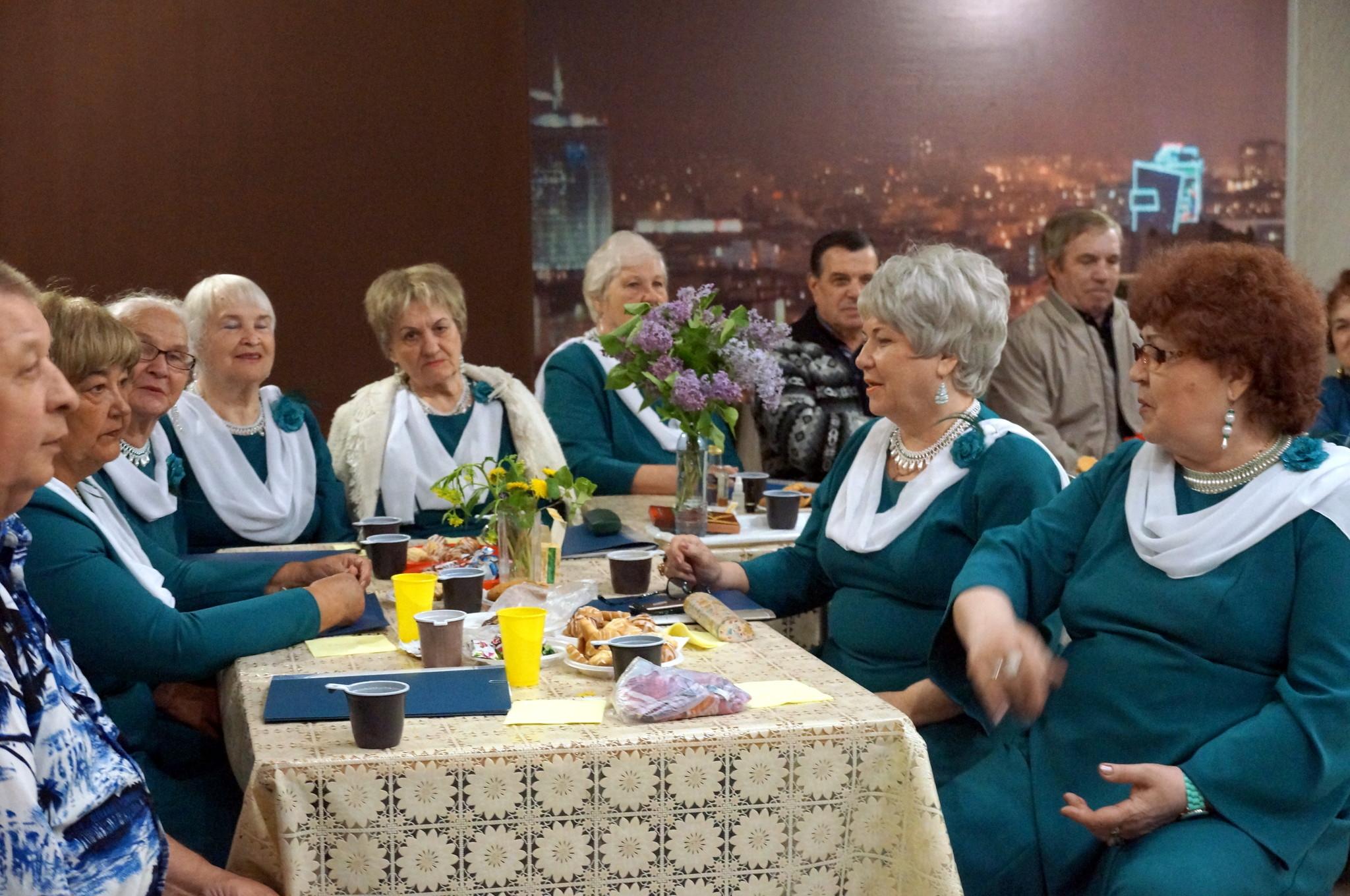 Встреча ветеранских клубов